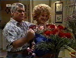 Lou Carpenter, Cheryl Stark in Neighbours Episode 2132
