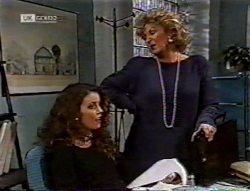 Gaby Willis, Cheryl Stark in Neighbours Episode 2132