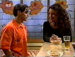 Rick Alessi, Gaby Willis in Neighbours Episode 2132