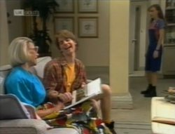 Helen Daniels, Brett Stark, Debbie Martin in Neighbours Episode 2143