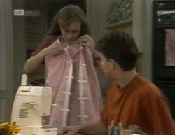 Debbie Martin, Michael Martin in Neighbours Episode 2144
