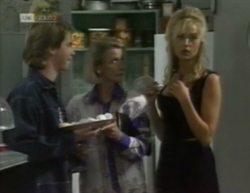 Brett Stark, Helen Daniels, Annalise Hartman in Neighbours Episode 2144