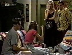 Rick Alessi, Sally Pritchard, Annalise Hartman, Mark Gottlieb in Neighbours Episode 2145