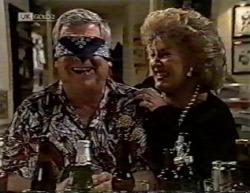 Lou Carpenter, Cheryl Stark in Neighbours Episode 2145