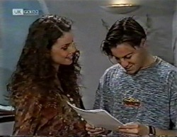 Gaby Willis, Rick Alessi in Neighbours Episode 2145