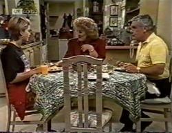 Danni Stark, Cheryl Stark, Lou Carpenter in Neighbours Episode 2145