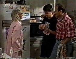 Helen Daniels, Michael Martin, Philip Martin in Neighbours Episode 2145