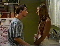 Rick Alessi, Sally Pritchard in Neighbours Episode 2145