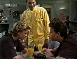 Danni Stark, Mark Gottlieb, Michael Martin in Neighbours Episode 2145