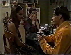 Sally Pritchard, Gaby Willis, Rick Alessi in Neighbours Episode 2145
