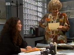 Gaby Willis, Cheryl Stark in Neighbours Episode 2153
