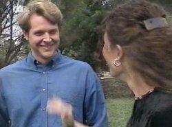 Kris Hyde, Gaby Willis in Neighbours Episode 2154
