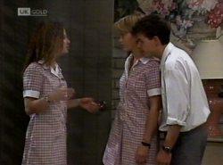 Cody Willis, Danni Stark, Michael Martin in Neighbours Episode 2154