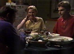 Rick Alessi, Katarina Torelli, Mark Gottlieb in Neighbours Episode 2155