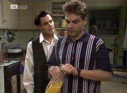 Rick Alessi, Mark Gottlieb in Neighbours Episode 2155