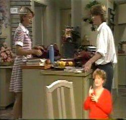 Danni Stark, Brett Stark in Neighbours Episode 2156