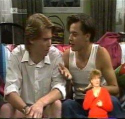 Brett Stark, Rick Alessi in Neighbours Episode 2156