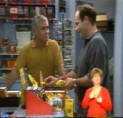 Lou Carpenter, Philip Martin in Neighbours Episode 2156