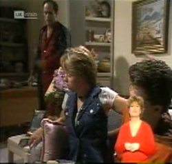 Philip Martin, Danni Stark, Michael Martin in Neighbours Episode 2156