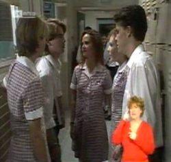 Danni Stark, Brett Stark, Cody Willis, Debbie Martin, Michael Martin in Neighbours Episode 2157