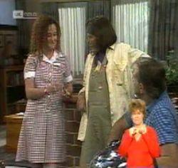 Cody Willis, Pam Willis, Doug Willis in Neighbours Episode 2157