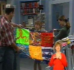 Philip Martin, Hannah Martin, Julie Martin in Neighbours Episode 2158