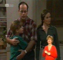 Hannah Martin, Philip Martin, Julie Martin in Neighbours Episode 2158