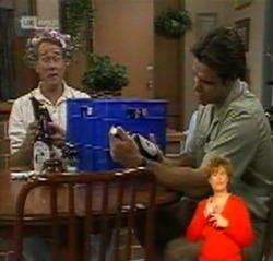 Doug Willis, Andrew MacKenzie in Neighbours Episode 2159