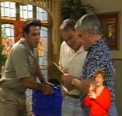 Andrew MacKenzie, Doug Willis, Lou Carpenter in Neighbours Episode 2159