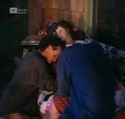 Dave Gottlieb, Sally Dawes in Neighbours Episode 2159