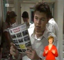 Michael Martin in Neighbours Episode 2160