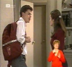 Michael Martin, Julie Martin in Neighbours Episode 2160
