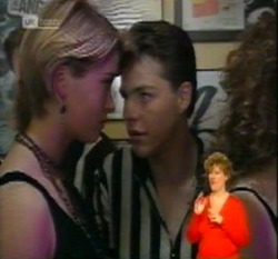Danni Stark, Michael Martin in Neighbours Episode 2160