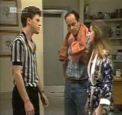 Michael Martin, Philip Martin, Julie Martin in Neighbours Episode 2161