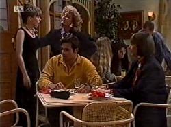 Debbie Martin, Cheryl Stark, Andrew MacKenzie, Anne Teschendorff in Neighbours Episode 2162