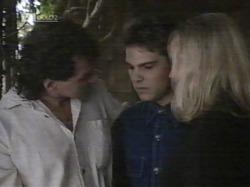Dave Gottlieb, Mark Gottlieb, Annalise Hartman in Neighbours Episode 2163