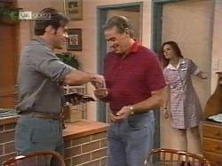 Andrew MacKenzie, Doug Willis, Cody Willis in Neighbours Episode 2163