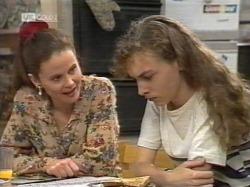 Julie Martin, Debbie Martin in Neighbours Episode 2163