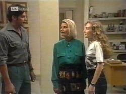 Andrew MacKenzie, Helen Daniels, Debbie Martin in Neighbours Episode 2163