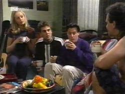 Annalise Hartman, Mark Gottlieb, Rick Alessi, Dave Gottlieb in Neighbours Episode 2163