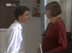 Michael Martin, Anne Teschendorff in Neighbours Episode 2164