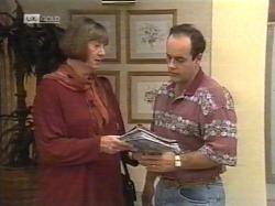Anne Teschendorff, Philip Martin in Neighbours Episode 2164