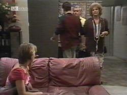 Danni Stark, Michael Martin, Lou Carpenter, Cheryl Stark in Neighbours Episode 2164