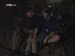 Michael Martin, Brett Stark in Neighbours Episode 2164