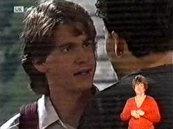Brett Stark, Michael Martin in Neighbours Episode 2165
