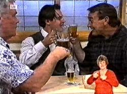 Lou Carpenter, Rick Alessi, Doug Willis in Neighbours Episode 2165