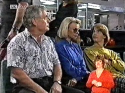 Lou Carpenter, Helen Daniels, Brett Stark in Neighbours Episode 2165