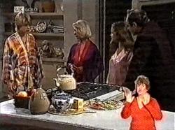 Danni Stark, Helen Daniels, Julie Martin, Philip Martin in Neighbours Episode 2165