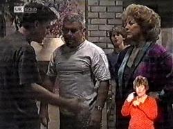 Michael Martin, Lou Carpenter, Brett Stark, Cheryl Stark in Neighbours Episode 2165