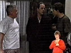 Lou Carpenter, Philip Martin, Michael Martin in Neighbours Episode 2165